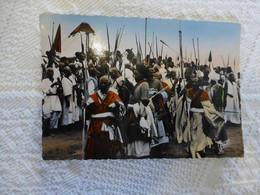 NGAOUDERE Notables, Tente Du Lamido ; Ref 2041 CP02 - Kamerun