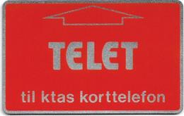 Denmark - KTAS - Telet L&G Optical - TDKD001 - 1983, (Cn. D0 171 374), 30kr, Mint - Dänemark