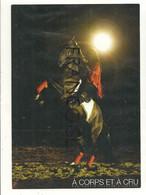 """Carte Boomerang. Publicité Pour """"A Corps Et à Cru"""" Equinoctis Théâtre Equestre. Cheval Cabré. 2008 - Pubblicitari"""
