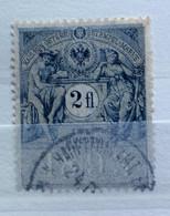 AUSTRIA  MARCA DA BOLLO - STEMPELMARK  2  Fl  - 1893 - Fiscales