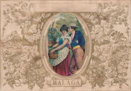 Malaga  Grand Decoupi 24.2 X 17 Cm - Unclassified