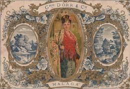 Malaga  Grand Decoupi 24.2 X 16.8 Cm - Unclassified
