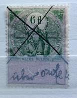 AUSTRIA  MARCA DA BOLLO - STEMPELMARK  6 Fl  - 1893 - Fiscales