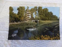 79 Marais Poitevin, St-Hilaire-la-Palud, LE LAITIER En Barque, Années 1950  ; Ref 2033 CP02 - Unclassified