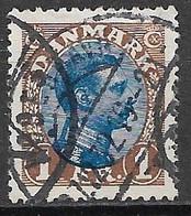 Denmark 1922. Scott #128 (U) King Christian X - Usati
