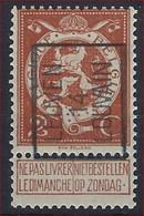 """DUBBELDRUK / IMPRESSION DOUBLE  BELGIE - OBP TYPO Nr.  52 A - """" LEUVEN 14 LOUVAIN Préo / Precancels - MNH ** - Typos 1912-14 (Lion)"""