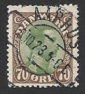 Dänemark 1918, Mi.-Nr. 107, Gestempelt - Usati