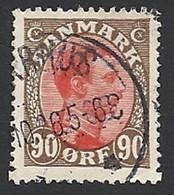 Dänemark 1918, Mi.-Nr. 108, Gestempelt - Usati