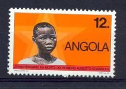 ANGOLA 1989  Augusto N' Gangula - Angola