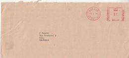 AMOUNT 0.7, LONDON SWI, RED MACHINE STAMPS ON COVER, 1978, UK - 1952-.... (Elisabetta II)