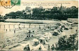 CPA - ROYAN - MAISON DE SANTE AMIOT ET LA CONCHE DU FONCILLON (1925) - Royan