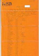 BAILE HERCULANE MINERVA HOTEL HEADER STATIONERY, HAND WRITTEN LETTER,1987, ROMANIA - Vecchi Documenti