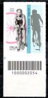 Italia 2020 - Gino Bartali Codice A Barre MNH ** - Codici A Barre
