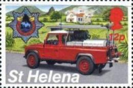 St. Helena, 1995, Michel 648, Emergency Services-fire Engine, 1v, MNH - Policia – Guardia Civil