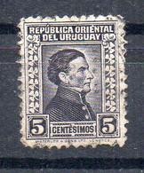 URUGUAY - 1928 - GENERAL JOSE ARTIGAS - 5 - Oblitéré - Used - - Uruguay