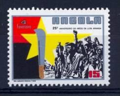 ANGOLA 1986 Uprising Anniversary - Angola