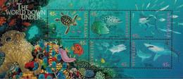 MDN-BK25-061-2 MDS MINT PF/MNH ¤ AUSTRALIA 6w In Serie ¤ TURTLE SHARKS FISH ANIMALS OF THE WORLD ANIMAUX DU MONDE - Fische