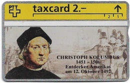 Switzerland - Swisscom (L&G) - K Series - K-93/34 - Christoph Kolumbus - 302L - 02.1993, 2Fr, 10.000ex, Mint - Schweiz