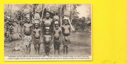 Initiés De La Société Secrète Toubouan Papouasie Nouvelle Guinée - Papua Nuova Guinea
