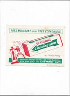 Buvard Ancien  Dentifrice Chewing-gum - D