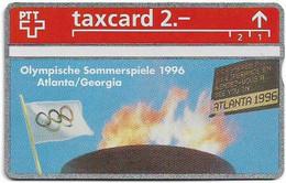 Switzerland - Swisscom (L&G) - K Series - K-93/28A - Olympische Sommerspiele 1996 - 302L - 02.1993, 2Fr, 10.000ex, Mint - Schweiz