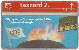 Switzerland - Swisscom (L&G) - K Series - K-93/28B - Olympische Sommerspiele 1996 - 304L - 04.1993, 2Fr, 5.000ex, Mint - Schweiz