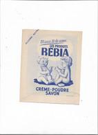Buvard Ancien  Les Produits Bebia  Crème Poudre  Savon - Parfums & Beauté