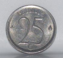 1973, Belgique, 25 Centimes - 02. 25 Centimes