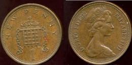 Grande-Bretagne - 1 New Penny - 1973 - 1902-1971 : Monete Post-Vittoriane
