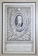 Biglietto Commemorativo - Chretien Comte De Tattenbach - 10 Février 1910 - Vecchi Documenti