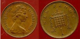 Grande-Bretagne - 1 New Penny - 1974 - 1902-1971 : Monete Post-Vittoriane