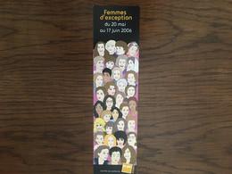 Marque Page Fnac Femmes D'exception - Lesezeichen