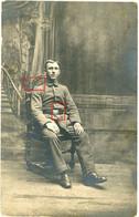 Carte Photo. Portrait Wervik Flandern Belgien .  Soldats  Allemande Guerre 14-18.WWI - 1914-18