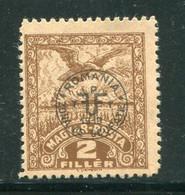 HONGRIE- Debreczen- Y&T N°60- Neuf Sans Gomme - Debreczin