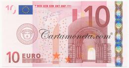 10 EURO PORTUGAL FIRST SERIES TRICHET U003 2002 FDS - EURO