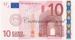 10 EURO AUSTRIA FIRST SERIES TRICHET F015 2002 FDS - EURO