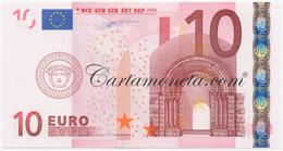 10 EURO IRELAND FIRST SERIES DUISENBERG K002 2002 FDS-/FDS - EURO