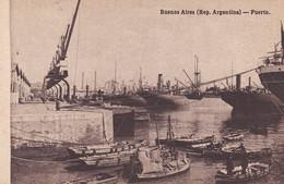 ARGENTINA - CARTOLINA -  BUENOS AIRES - REP. ARGENTINA - PUERTO - Argentina