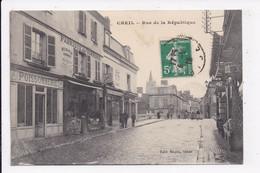 CP 60 CREIL Rue De La Republique - Creil