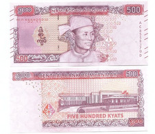 Myanmar - 500 Kyats 2020 UNC Lemberg-Zp - Myanmar