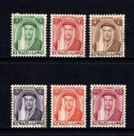 KUWAIT    1961    Shaikh  Abdullah    Part  Set  Of  6    MH - Kuwait