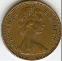 Grande-Bretagne - 1 New Penny - 1979 - 1902-1971 : Monete Post-Vittoriane