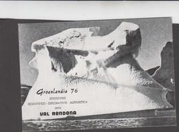GREENLAND - 1976 - ITALIAN EXPEDITION POSTCARD,SIGNED BY MEMBERS - Brieven En Documenten