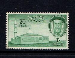 KUWAIT    1961    20f  Green    MH - Kuwait