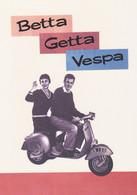 Postcard - Transport Series - Betta Getta Vespa - New - Pubblicitari