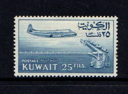 KUWAIT    1961    25f  Blue    MH - Kuwait