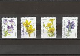 FRANCE 2019 ISSU BLOC LA FLORE EN DANGER YT 5321 A 5324 OBLITERE - Used Stamps