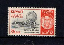 KUWAIT    1961    35f  Black  And  Red    MH - Kuwait