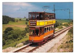 Strassenbahn-Museum Crich/England - Triebwagen 812 Der Glasgow Corporation Bj. 1900 - Aufnahme Im September 1980 - Tram