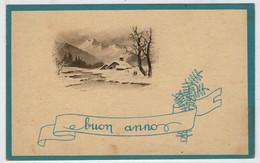 C.P.  PICCOLA    BUON    ANNO    1945  (VIAGGIATA) - Nieuwjaar